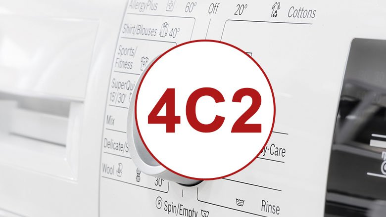 Samsung washer code 4c2
