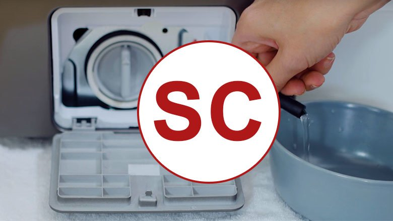 Samsung washing machine sc code