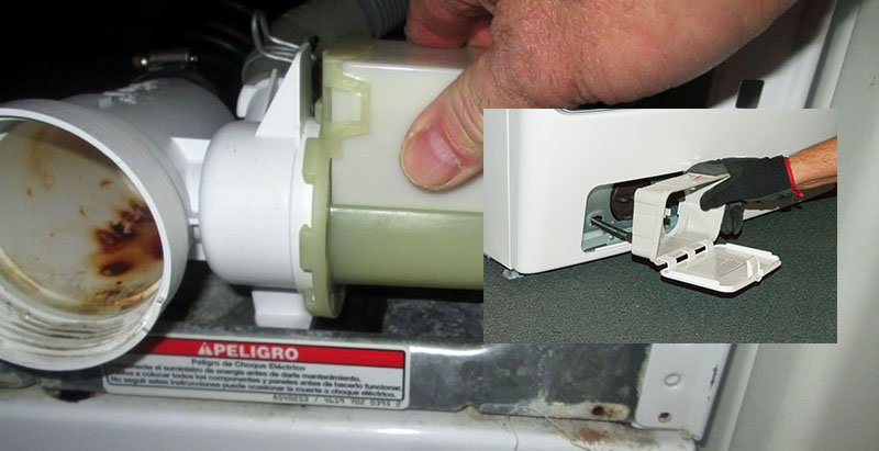Washer Drain Filter